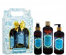 KIT HAMMAM EL HANA - FRAG. MUSK BRANCO - HIDRATANTE CORPORAL 400 ML + SHOWER GEL 400 ML + BODY SPLASH 200 ML